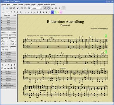 譜面制作・作曲ソフト MuseScore