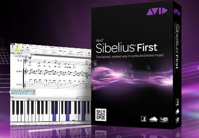 楽譜作成ソフトSibelius